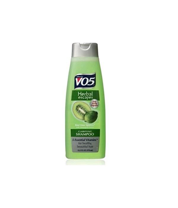 VO5® SHAMPOO 12.5oz - KIWI LIME SQUEEZE - 12/UNIT
