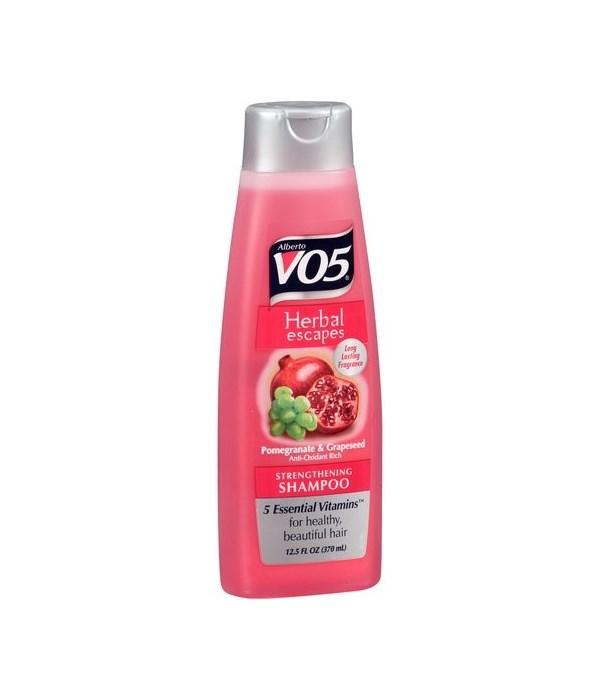 VO5® SHAMPOO 12.5oz - POMEGRANATE BLISS - 12/UNIT
