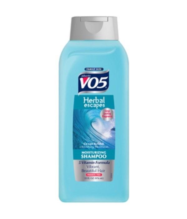 VO5® SHAMPOO 33oz - OCEAN REFRESH - 4/CS