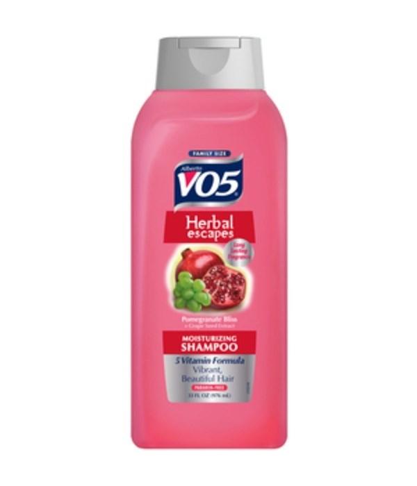 VO5® SHAMPOO 33oz - POMEGRANATE - 4/CS
