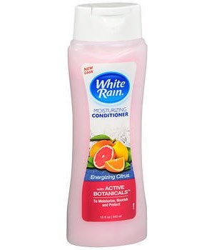 WHITE RAIN® MOISTURIZING CONDITIONER 15oz- ENERGIZING CITRUS- 6/CS