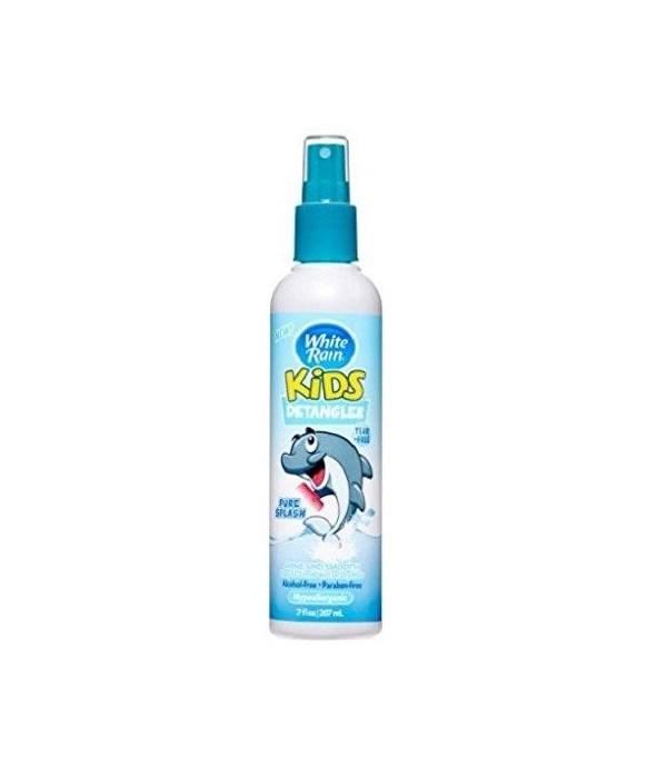 WHITE RAIN® KIDS DETANGLER 7oz- PURE SPLASH- 12/CS