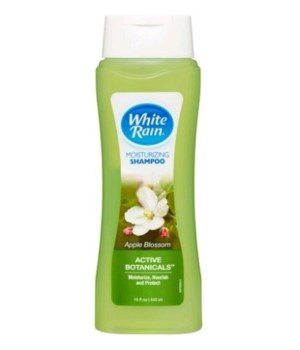 WHITE RAIN® MOISTURIZING SHAMPOO 15oz- APPLE BLOSSOM- 6/CS
