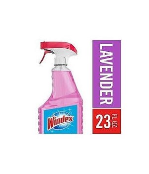 WINDEX® GLASS CLEANER SPRAY 23 OZ- LAVENDER- 8/CS
