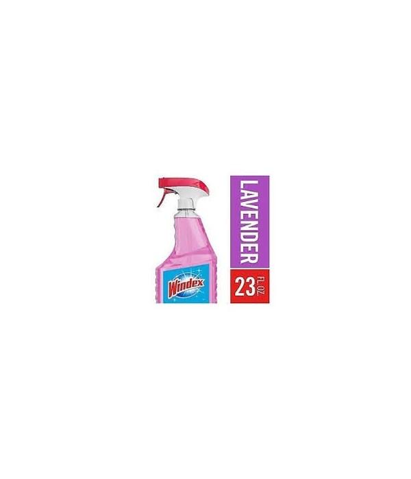 WINDEX® GLASS CLEANER SPRAY 23 OZ- LAVENDER- 8/CS
