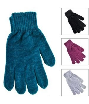 WINTER® GLOVES - CHANIELLE ASSORTED CORLORS- 12X20 = 240/CS