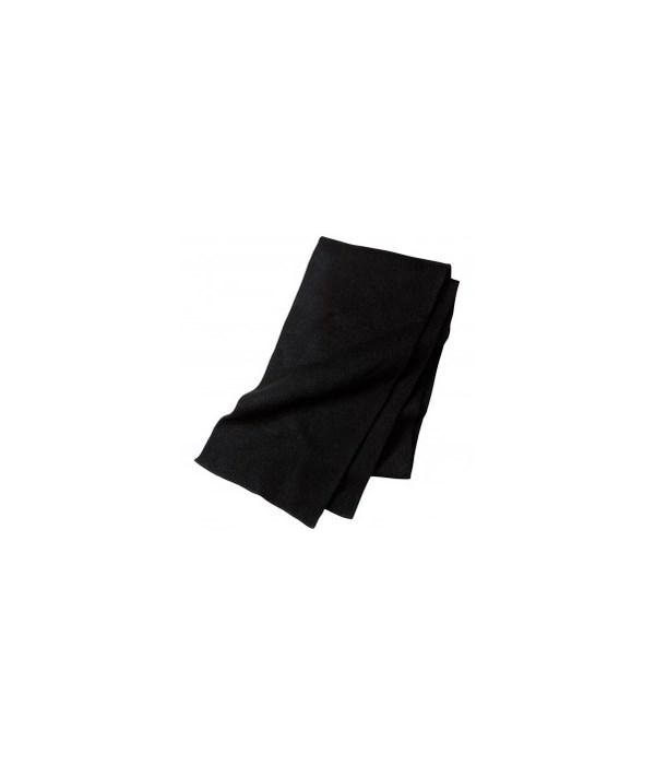 WINTER® SCARF BLACK 12X12= 144/CS