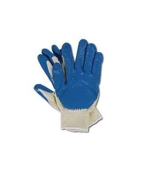 WORK GLOVES 10's-BLUE PALM  (WK-BP-400)