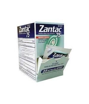 Zantac® 75mg Box - 25CT/1PK