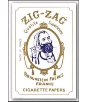 ZIG ZAG 1 1/4 WHITE 24CT
