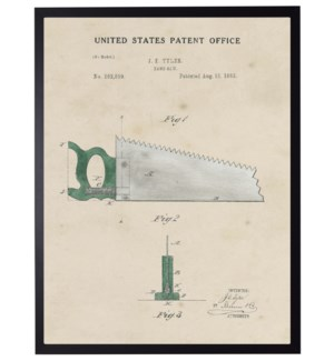 Watercolor green saw patent