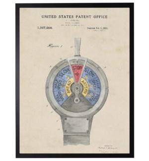 Watercolor Patent Marin Telegraph