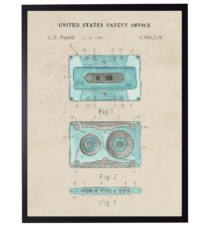Watercolor Casette Patent