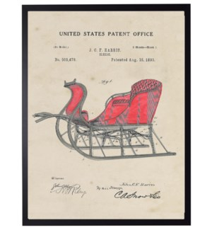 Watercolor Sleigh Patent