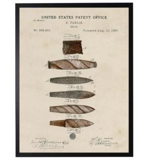 Watercolor cigar patent
