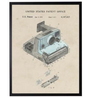 Watercolor Polaroid Camera Patent
