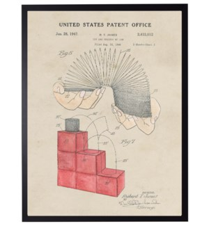 Watercolor Slinky Patent