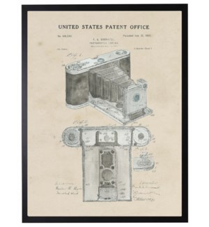 Watercolor Brownell Camera Patent