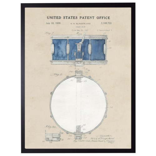 Watercolor Snare Drum Patent