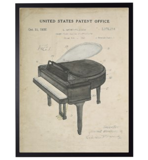 Watercolor Grand Piano Patent