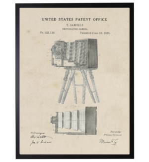 Watercolor T. Samuels Camera Patent