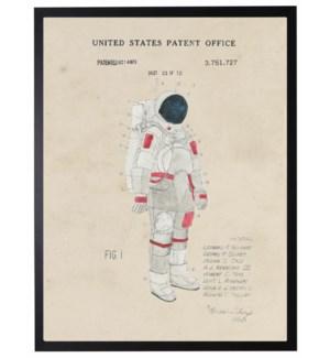 Watercolor Space Suit Patent