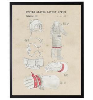 Watercolor Space Suit Accessories Patent
