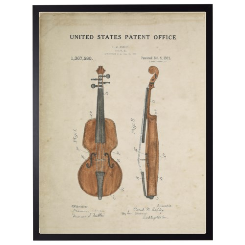 Watercolor Violin Patent