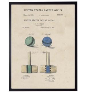 Watercolor Croquet Patent
