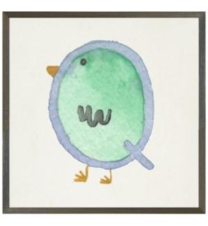 Watercolor Q Quail