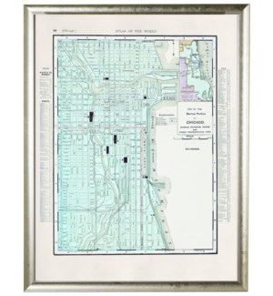 Chicago Central Portion map