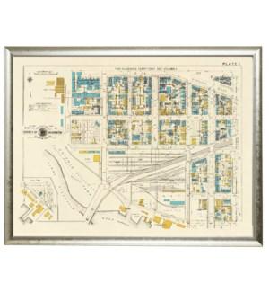 Survey of Washington DC map