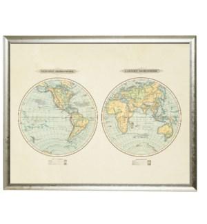 Eastern and Western Hemispheres