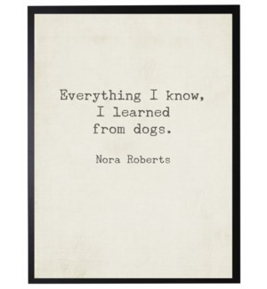 Everything I know quote, Roberts,