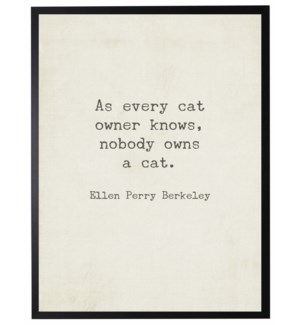 As every cat quote, Berkeley,