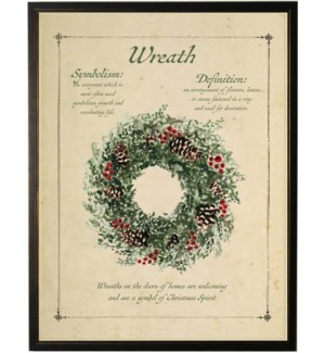 Holiday Wreath with definition