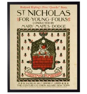 Vintage St Nick music poster