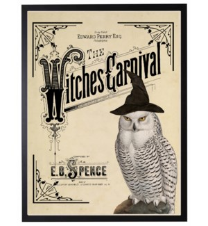 Witches carnival poster