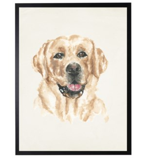 Watercolor Yellow Lab