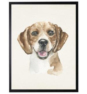 Watercolor Beagle