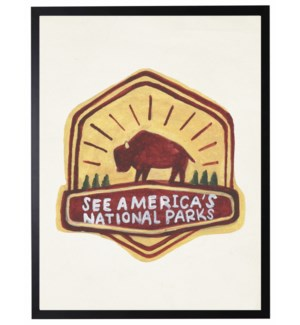See Americas National Parks logo
