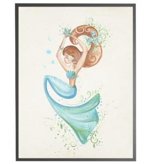 mermaid with star fish