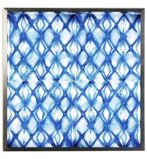 Blue watercolor Geometric A