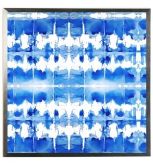 Blue watercolor Geometric B