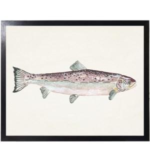 Watercolor camping Fish A