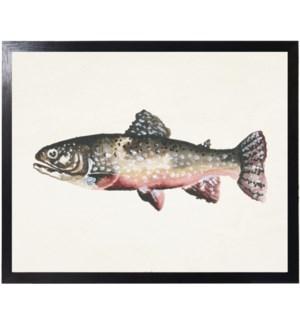 Watercolor camping Fish B