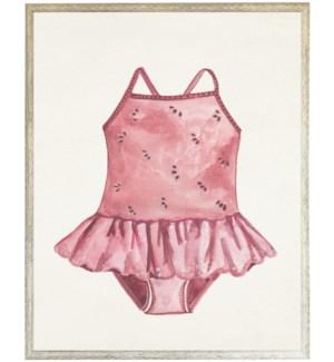 Kids pink swim suit