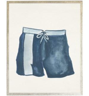 Kids blue swim trunks