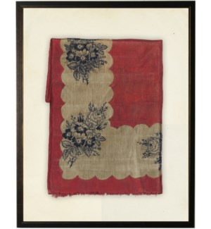 Red, White & Blue Fabric print