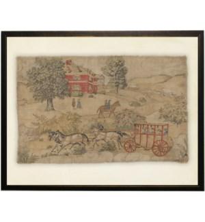 Americana Landscape tapestry